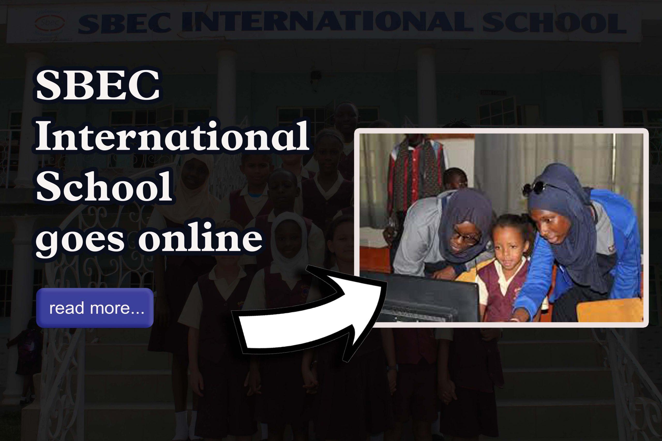 SBEC goes online